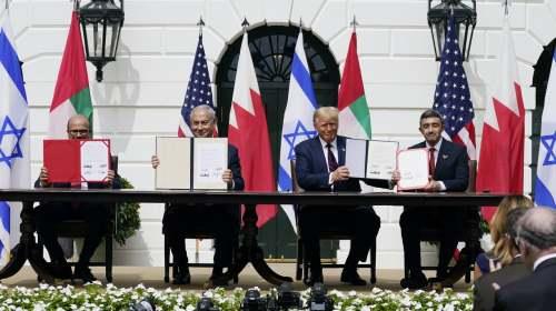 """巴林與以色列建交:又一張倒下的""""多米諾骨牌"""""""