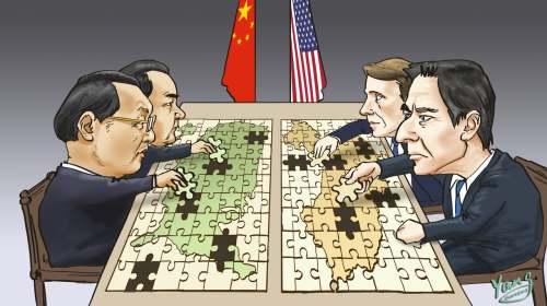 阿拉斯加對話為中美關係定調